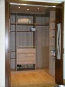 Vestidor con puertas plegables Aspas