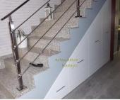 Armario bajo escalera extraible