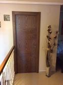 Puerta de paso madera roble tinte