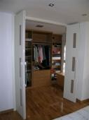 Vestidor con puertas plegables Turín